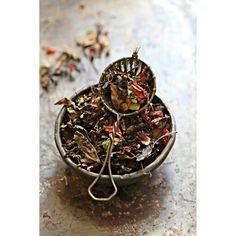 Mistletoes kisses from Anandini Himalaya Tea #christmas #tea #fioodstyling