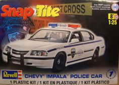 Rrevell Chevy Caprice Police Car Snap-Tite  box art