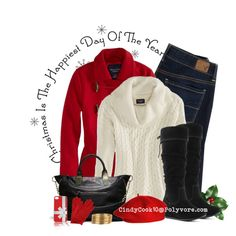 """""""Christmas Shopping"""" by cindycook10 on Polyvore"""