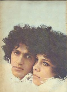 caetano veloso & gal costa, 1968. Music Pics, My Music, Brazil Music, Beatles, Astrud Gilberto, Hippie Man, Music Station, Twist And Shout, Singer