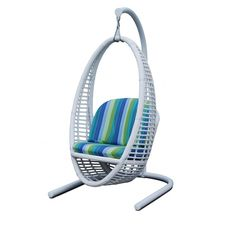 Heri Hanging Chair With Stand ($2,110) ❤ Liked On Polyvore Featuring Home,  Outdoors