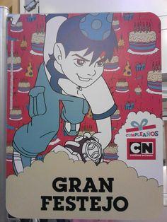 ¡Listos para el gran festejo de Cartoon Network!