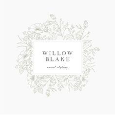 Willow Blake Logo Suite