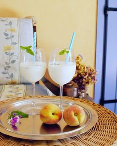 Francine's Place: MILK AND MINT FRESH DRINK RECIPE