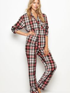 c79363e8bf 100% cotton comes in 12 colors The Lightweight PJ Set - Victoria s Secret  Model Outfits