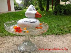 http://www.anyocababoca.hu/2014/09/kavics-kacsa.html  Painted stones - Duck