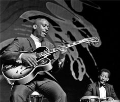 Wes Montgomery - forever working to master the licks he played off the top of his head.