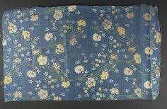 Fragment of Dress Silk, Italian?, c. 1770, Harvard Art Museums/Fogg Museum.