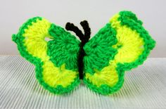 Motylek zielony - dekoracja - FikuMikuShop - Dekoracje