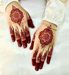 New henna design New Henna Designs, Modern Mehndi Designs, Bridal Henna Designs, Mehndi Design Pictures, Mehndi Designs For Fingers, Beautiful Henna Designs, Henna Tattoo Designs, Beautiful Mehndi, Mehandi Designs