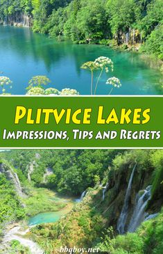 Plitvice National Park really requires more than the one night stay/ half day excursion that most bloggers suggest. Here's our tips on visiting this Unesco World Heritage Site - the oldest National Park in Croatia. #bbqboy #Plitvicelakes #croatia #daytrips #split