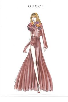#FlorenceWelch in one of her summer tour dress. I <3 Florence and the Machine!