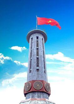 La tour du drapeau de Lung Cu, Ha Giang