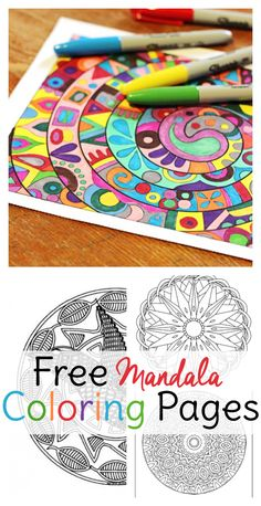 These mandala coloring pages for adults are sure to give you a few moments of zen, especially since they won't cost you anything!