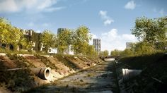 David Agüero - Post-apocalyptic City created with LightWave 3D software…