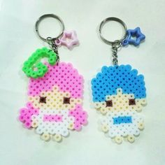 Little Twin Stars perler beads by shirley117