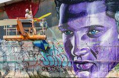Joslyn Noelani: Tropical Island Street Art