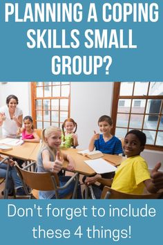 Are you doing a school counseling small group focused on coping skills and aren't sure where to start. These ideas and activities will help your students learn the strategies they need for self-regulation. They will understand what positive coping skills are, why they matter and how they can use them in their own lives. Use these ideas to make planning your next coping skills small group easier! Group Counseling, Counseling Activities, School Counseling, Coping Skills Activities, Emotions Activities, Positive Self Talk, Guidance Lessons, Feelings And Emotions, Anger Management
