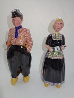 Figurenflasche Figural Couple Decanter Bottle für Bols Delft Zenith