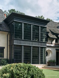 Christopher | French Normandy Estate Two Story Windows