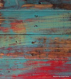 Beyond The Picket Fence: Pallet Chest Furniture Painting Techniques, Paint Furniture, Furniture Makeover, Building Furniture, Furniture Design, Pallet Chest, Pallet Trunk, Small Water Fountain, Distressed Wood Furniture