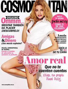 Revista #COSMOPOLITAN, #febrero 2015. #Amor real, que no te cuenten cuentos, elije tu #finalfeliz. #Amigas & #dinero. #Pelo #sexy.