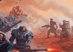 Mutant Chronicles Warzone Resurrection artwork