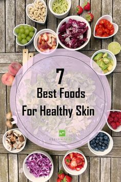 You are what you eat! The best foods for healthy skin arent as exotic expensive or uncommon as you may think. Consider putting a few of these in your cart next time you hit the grocery store. Foods For Healthy Skin, Healthy Fats, Healthy Life, Healthy Recipes, Healthy Beauty, Healthy Nutrition, Healthy Living, Skin Care Regimen, Skin Care Tips
