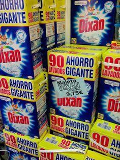 Jacrix en Yecla te informa que: seguimos con la SUPEROFERTA DIXAN maleta 90 lavados 9,75€ solo quedan 20!!!!