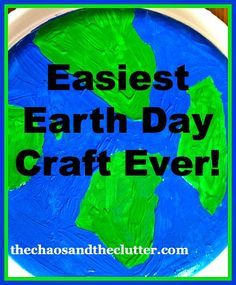 Super Easy Earth Day Craft
