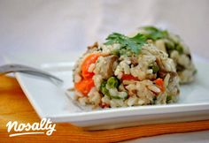 Ludaskása   Nosalty Fried Rice, Main Dishes, Bacon, Grains, Goodies, Mint, Dinner, Ethnic Recipes, Kitchen