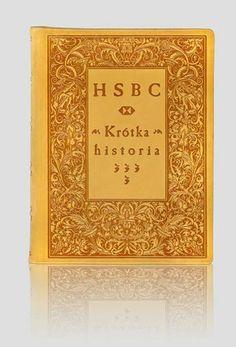 """""""HSBC.Krótka historia - A short story"""". Exclusive artistic books – unique leather binding. http://www.kurtiak-ley.com/hsbc-a_short_story-krotka_historia/. Luksusowe książki artystyczne. Ręczne oprawy w skórę. http://www.kurtiak-ley.pl/hsbc-artystyczne-ksiazki-na-zamowienie/."""