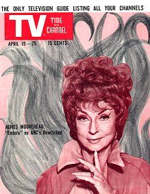 """Agnes Moorehead as Endora on """"Bewitched."""""""