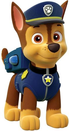 Paw Patrol - Meet the characters from the Nickelodeon hit show for preschoolers, Paw Patrol.: Chase from Paw Patrol Paw Patrol Rocky, Paw Patrol Birthday Cake, Paw Patrol Party, Birthday Cake Toppers, Boy Birthday, Paw Patrol Games, Paw Patrol Cartoon, Birthday Ideas, Personajes Paw Patrol