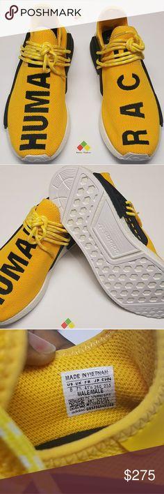 3dff23573 Yellow Adidas human race Yellow   black Adidas human race 2017 sneakers  adidas Shoes Sneakers