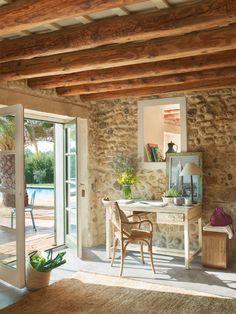 Refurbished old rustic barn home in Spain