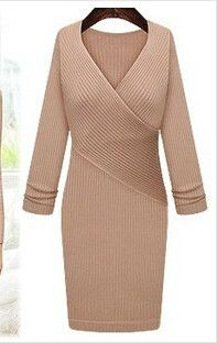 Wrap Style Casual Dress