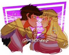 """dasketcherz: """"silly dorks in love~His majesty's queen can be quite a tease with affections once in a while lololol. designed by @gravityfying """" DASKE YOU'RE SPOILING ME TOO MUCH"""