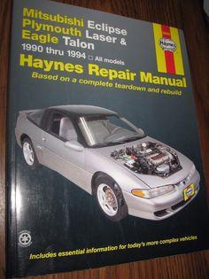 chilton chrysler 88 95 front wheel drive cars 6 cylinder repair rh pinterest com 1992 Eagle Talon 1992 Eagle Talon