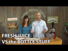 Fresh Juice vs. the Bottled Stuff