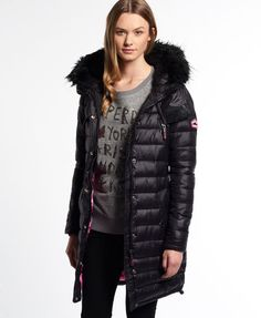 Superdry Happy Super Fuji Jacket Black