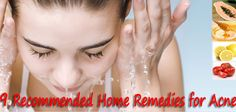 9 Recommended Home Remedies for Acne