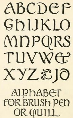 """From the public domain ebook, """"Lettering"""" published in 1916. Download in epub, kindle or pdf format here: https://archive.org/details/lettering00stev"""