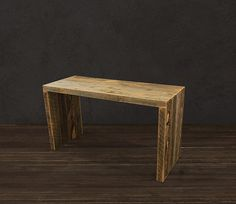 Reclaimed Wood Console / Reclaimed Wood Furniture