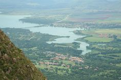 Aerial view of my home and surroundings. Hartbeespoort Dam, South Africa