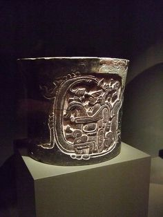 Mayan vessel depicting a lord emerging from the World Tree Mexico Late Classic Period 600-900 CE Ceramic Chochola style