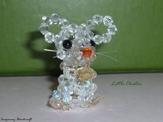 Mouse pendant  Little Chester by ImaginaryHandicraft on Etsy, €11.70