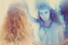 Eniko Mihalik photographed by Guy Aroch for Shopbop. Bohemian Gypsy, Bohemian Style, Bohemian Fashion, Boho Chic, Guy Aroch, Gypsy Girls, Boho Life, Fashion Mag, Let Your Hair Down