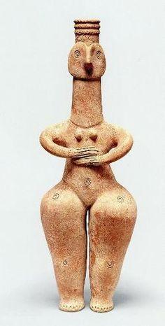 「女性土偶」イラン、前10-6世紀