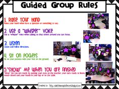 Guided Math: Part 2 (Accountability and Management) - Learning to the Core Guided Reading Lessons, Guided Math, Math Lessons, Fun Classroom Activities, Math Classroom, Classroom Ideas, Future Classroom, Math Stations, Math Centers